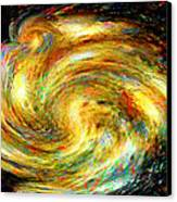 Spirit-fire Of Creation Bang Redemption Canvas Print by Rebecca Phillips
