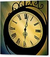 Spotlight On Time Canvas Print by Mike Flynn