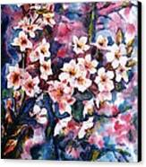 Spring Beauty Canvas Print by Zaira Dzhaubaeva