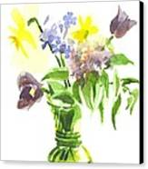 Spring Bouquet IIi Canvas Print by Kip DeVore