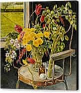 Spring Bouquet Canvas Print by Steve Spencer