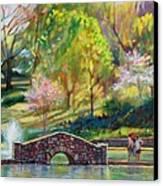 Spring Morning Canvas Print by Bonnie Mason