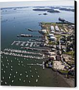 Spring Point, South Portland Canvas Print by Dave Cleaveland