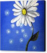 Springtime Fairies By Shawna Erback Canvas Print by Shawna Erback