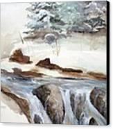Springtime Canvas Print by Rick Huotari