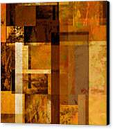 Squares And Rectangles Canvas Print by Ann Powell