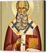 St Athanasios The Great Canvas Print by Julia Bridget Hayes