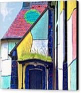St Barbara Church - Baernbach Austria Canvas Print by Christine Till