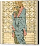St Barnabas Canvas Print by English School
