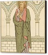 St Bartholomew Canvas Print by English School