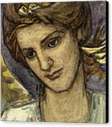 St Catherine Canvas Print by Thomas Matthews Rooke