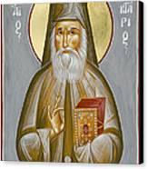St Nektarios Of Aegina Canvas Print by Julia Bridget Hayes