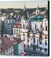 St Nicholas Prague Canvas Print by Joan Carroll