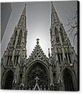 St. Patricks Cathedral  Canvas Print by Angela Wright