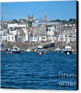 St Peters Port Guernsey  Canvas Print by Phyllis Kaltenbach
