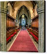 St Twrog Church Canvas Print by Adrian Evans
