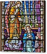 Stained Glass Canvas Print by Susan Candelario