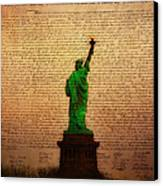 Stand Up For Freedom Canvas Print by Bill Cannon