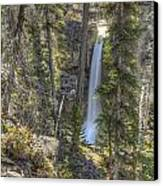 Stanley Falls At Beauty Creek Canvas Print by Brian Stamm