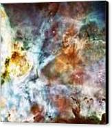 Star Birth In The Carina Nebula  Canvas Print by The  Vault - Jennifer Rondinelli Reilly