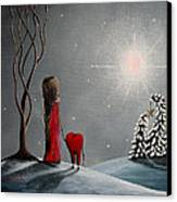 Star Of Hope By Shawna Erback Canvas Print by Shawna Erback