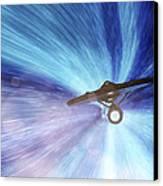 Star Trek - Warp Speed Mr. Scott Canvas Print by Jason Politte
