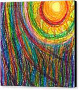 Starburst - The Nebular Dawning Of A New Myth And A New Age Canvas Print by Daina White