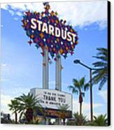 Stardust Sign Canvas Print by Mike McGlothlen