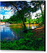 Starrs Mill 360 Panorama Canvas Print by Lar Matre