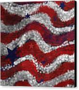 Starry Stripes Canvas Print by Carol Jacobs