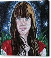 Stars Canvas Print by Monique Sarfity