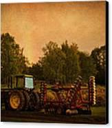 Starting Over - Vintage Country Art Canvas Print by Jordan Blackstone