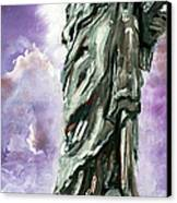 Statue Of Liberty Part 3 Canvas Print by Ginette Callaway