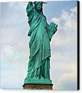 Statue Of Liberty Canvas Print by Stephen Stookey