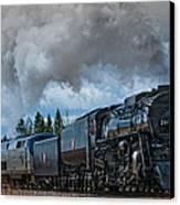 Steam Engine 261 Canvas Print by Paul Freidlund