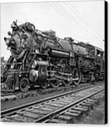 Steam Locomotive Crescent Limited C. 1927 Canvas Print by Daniel Hagerman