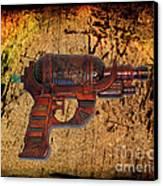 Steampunk - Gun - Ray Gun Canvas Print by Paul Ward
