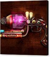 Steampunk - Gun -the Neuralizer Canvas Print by Mike Savad