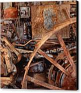 Steampunk - Machine - The Industrial Age Canvas Print by Mike Savad