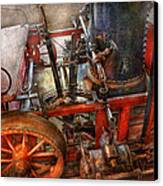 Steampunk - My Transportation Device Canvas Print by Mike Savad