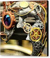 Steampunk - The Mask Canvas Print by Paul Ward