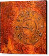 Steampunk Time Canvas Print by Bellesouth Studio
