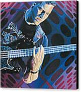 Stefan Lessard Pop-op Series Canvas Print by Joshua Morton