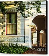 Stellenbosch Gate Canvas Print by Rick Bragan