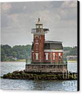 Stepping Stones Lighthouse I Canvas Print by Clarence Holmes