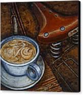 Still Life With Ladies Bike Canvas Print by Mark Howard Jones