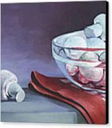 Still Life With Mushrooms Canvas Print by Natasha Denger
