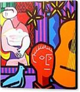 Still Life With Picasso's Dream Canvas Print by John  Nolan