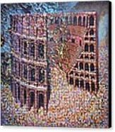 Still Stadium Canvas Print by Mark Howard Jones