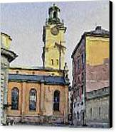 Stockholm 1 Canvas Print by Yury Malkov